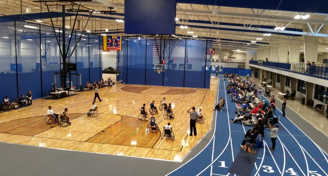 Special Event Featured Image: Wheelchair Basketball Prep-Varsity Regional
