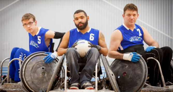 Special Event Featured Image: Turnstone Invitational Wheelchair Rugby Tournament