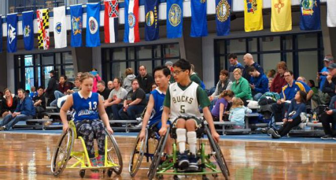 Special Event Featured Image: 2019 Junior Division Wheelchair Basketball Regional Qualifier Tournament