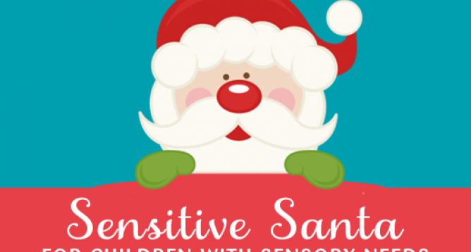 Special Event Featured Image: Sensitive Santa