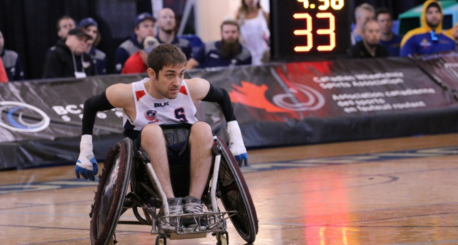 News Article Featured Image: Wheelchair Rugby Tournament