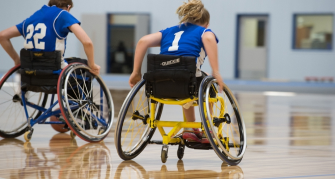 Special Event Featured Image: Prep & Varsity Wheelchair Basketball Regional Tournament