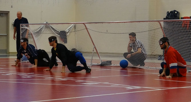 News Article Featured Image: USA Men's Goalball Team Competing in Nova Scotia