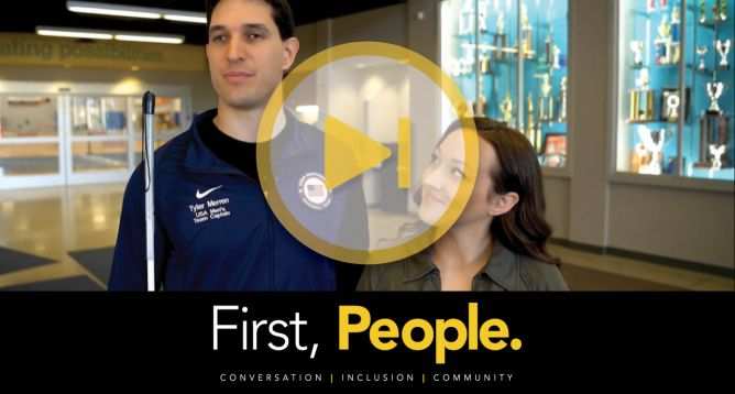 "News Article Featured Image: Turnstone Celebrates Disability Awareness Month with Release of ""First, People"" Video"