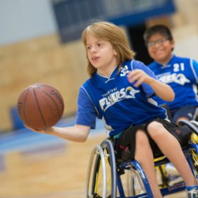 Wheelchair Basketball Photo