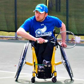Wheelchair Tennis Photo