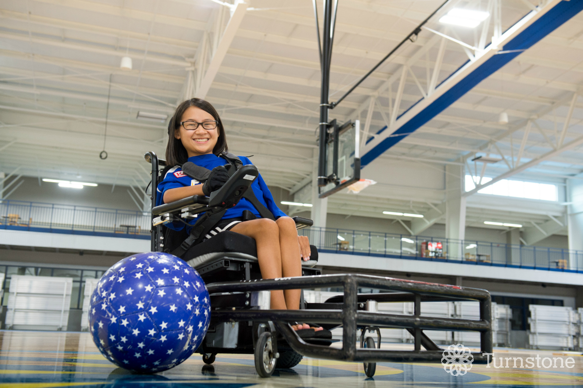 Adaptive sports programs at turnstone improve fitness, build confidence, and promote teamwork